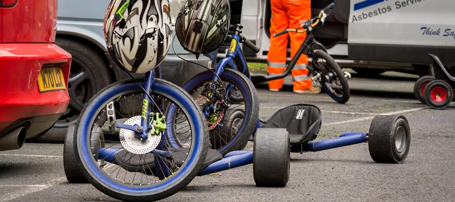 Drift trikes and safety equipment