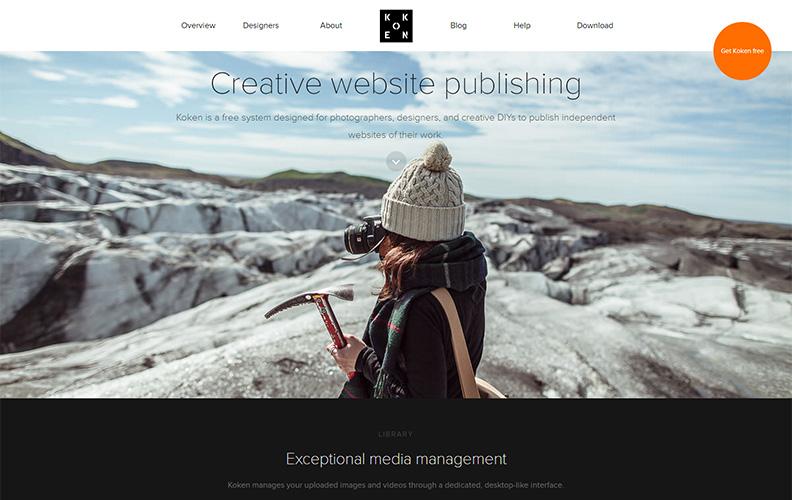 Koken Website