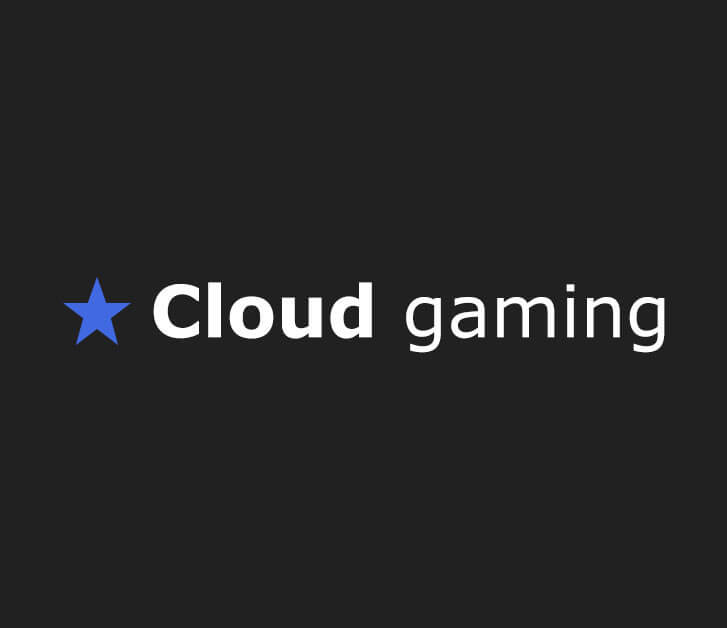 Cloud Gaming Website