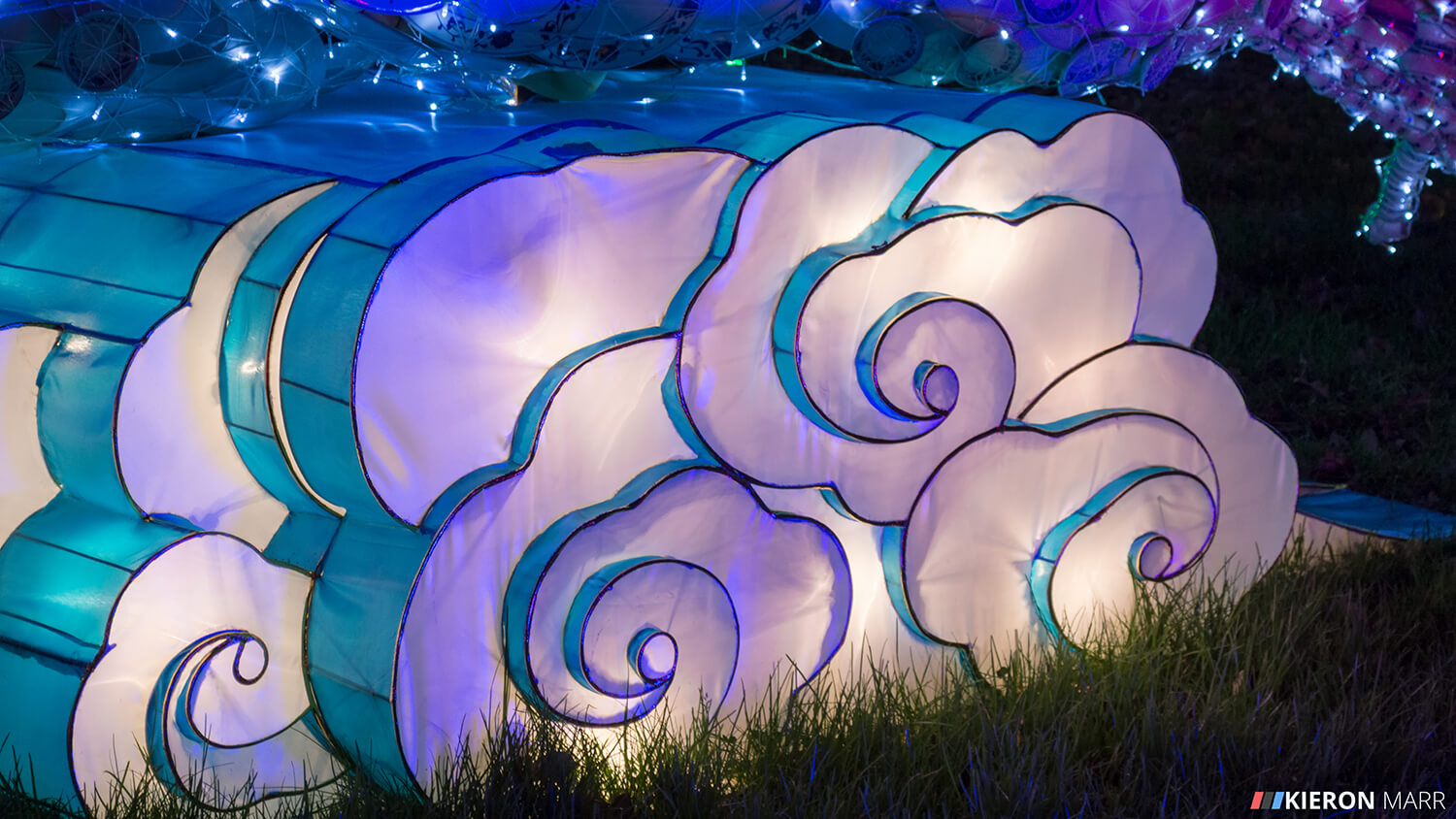 Longleat Festival of Light 2014 - Clouds