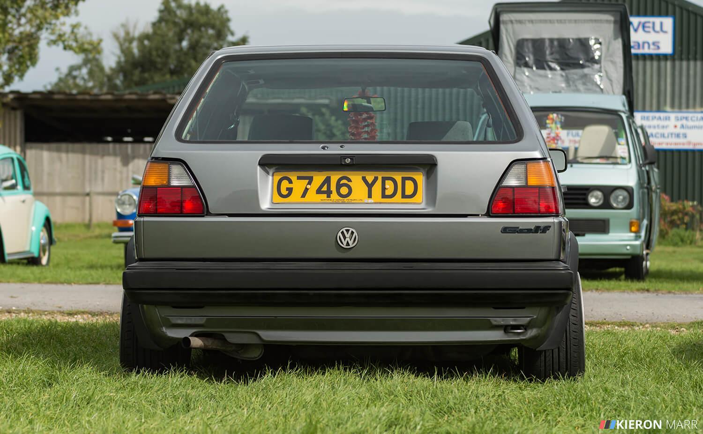 Dan's Volkswagen Golf MK2 - Rear